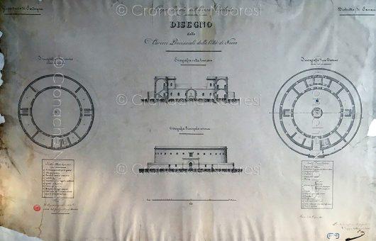 Progetto del Carcere di Nuoro dell'ing. Enrico Marchesi