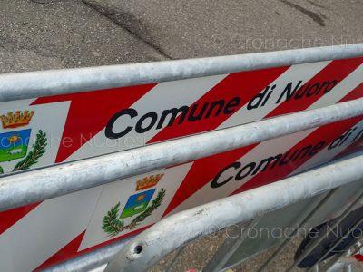 Comune di Nuoro, transenne ( foto S.Novellu)