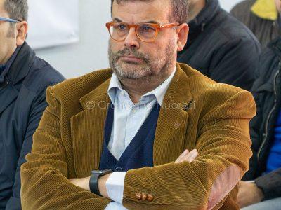 L'assessore alla Sanità Luigi Arru (foto S.Novellu)