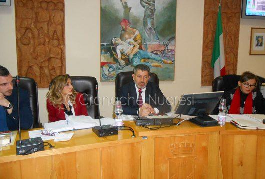 Un momento del consiglio comunale (f. P.G.Vacca)