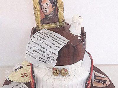 La Torta dedicata a Grazia Deledda