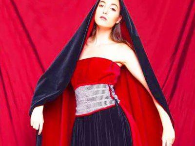 Uno degli abiti di Sonia Flauto
