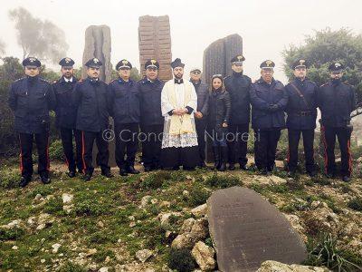 Il monumento dedicato ai Carabinieri morti nel 1951