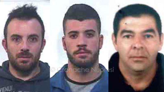 Gli associati: Federico Laisceddu, Stefano Marongiu e Pietro Monni