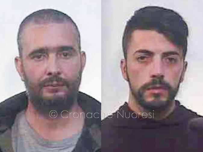 I vertici dell'organizzazione: Vincenzo Marongiu e Nicolò Piras