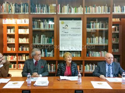 Un momento della conferenza stampa all'ISRE