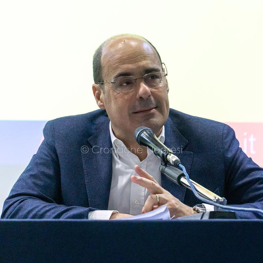 Il presidente della Regione Lazio Nicola Zingaretti (foto S.Novellu)