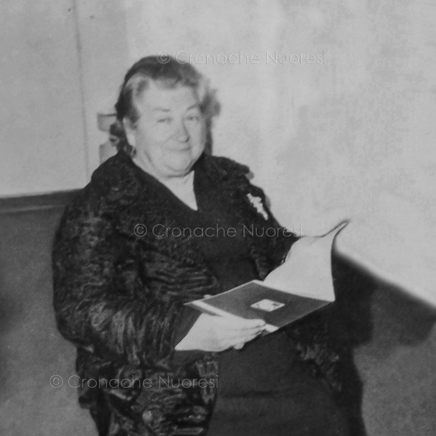 La signora Nicolina Ganga Marini