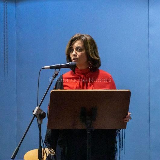 L'intervento dell'avvocato Sabina Contu (foto S.Novellu)
