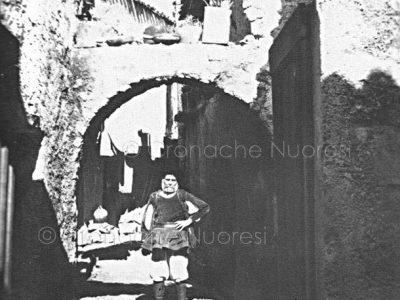 Nuoro, Sa corte de ziu Franziscu Catgiu negli anni '30