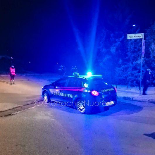 Carabinieri i via Mascagni