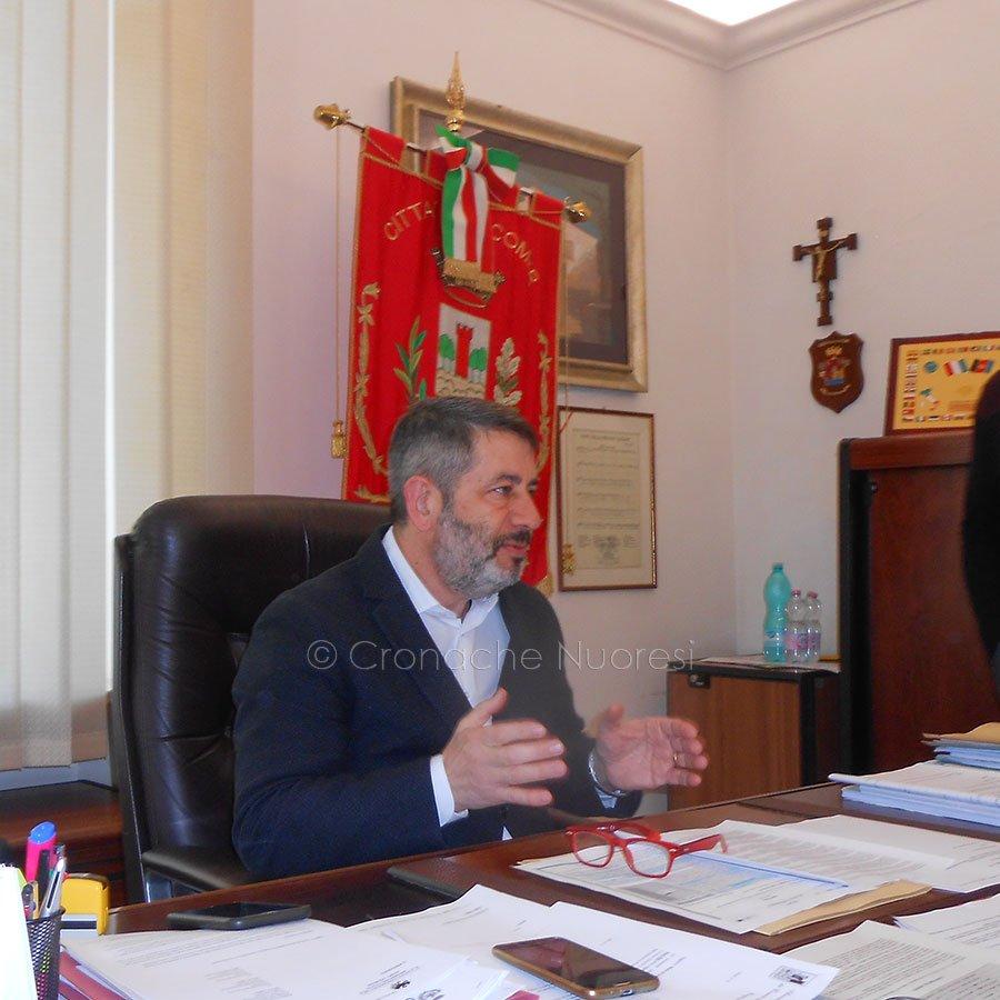 Il sindaco di Macomer Antonio Succu (foto P.G.Vacca)