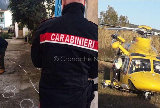 rgoli, i rilievi del Carabinieri e l'elisoccorso