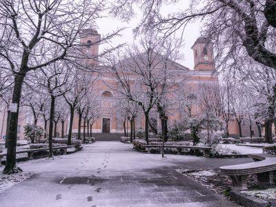 Nuoro sotto la neve (foto S.Novellu)