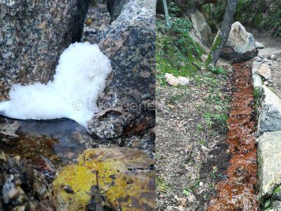 Nuoro: impianto fognario abusivo scarica nel sentiero dell'Ortobene