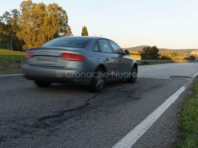 Traffico sulla Provinciale 25 (foto S.Novellu)