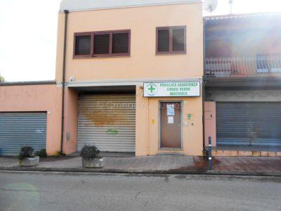 La sede della Croce Verde di Macomer