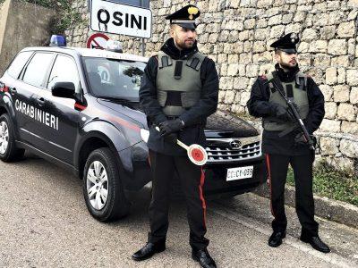 Controlli dei Carabinieri a Osini