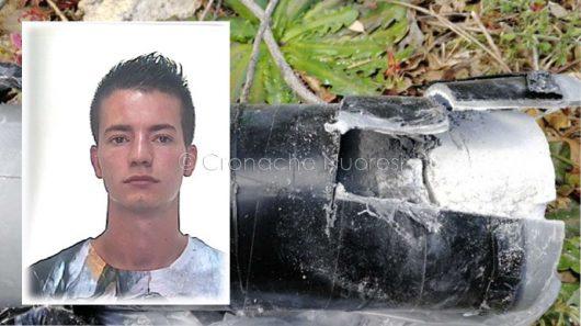 Nel riquadro, l'arrestato: Davide Fanni