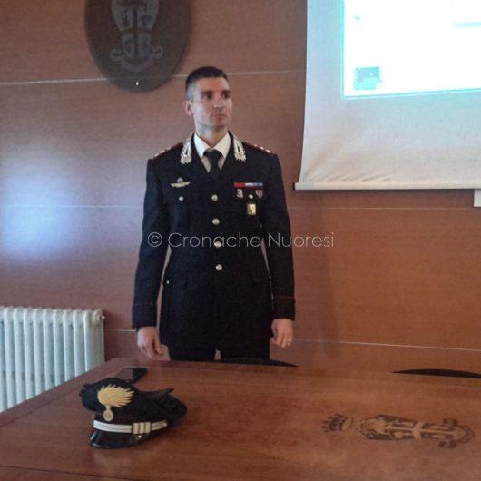 Conferenza stampa al Comando dei Carabinieri