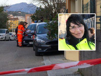 Nel riquadro Romina Meloni, e la via in cui è avvenuto il suo omicidio (foto S.Novellu)