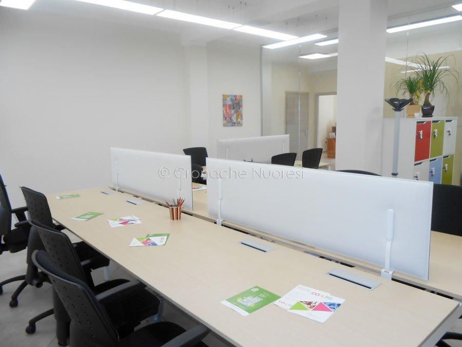 Gli uffici del Coworking (f. P.G.Vacca)