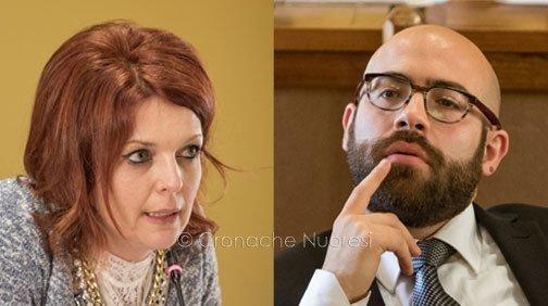 Anna Maria Musio e Marcello Seddone (foto S.Novellu)