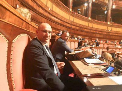 Il parlamentare Massimiliano Fenu