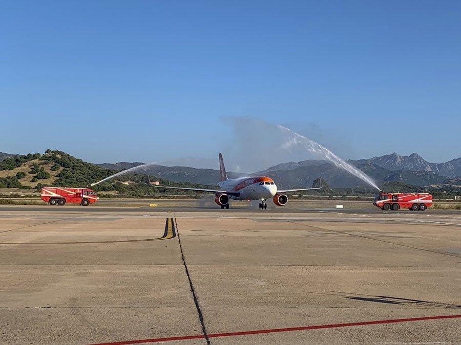 Aeroporto di Olbia: 8 nuove rotte con Easy Jet e Wizz Air