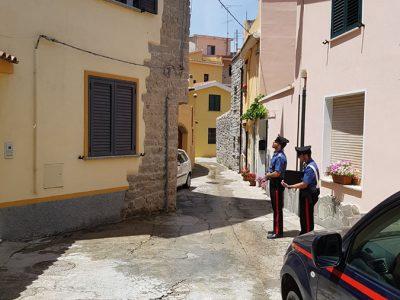 I Carabinieri di Mamoiada sul luogo della tragedia