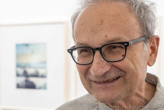 Il fotografo Guido Guidi al MAN di Nuoro (foto S.Novellu)