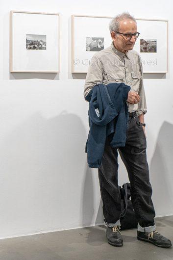 Il fotografo Guido Guidi al MAN di Nuoro (© foto S.Novellu)