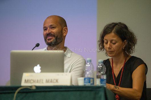 L'editore londinese Michael Mack (© foto S.Novellu)