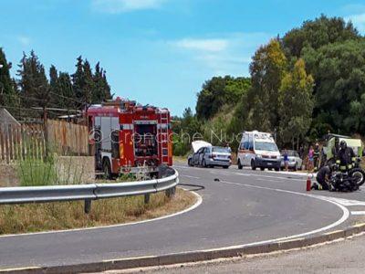 L'intervento dei soccorritori sul luogo della tragedia (© Cronache Nuoresi)