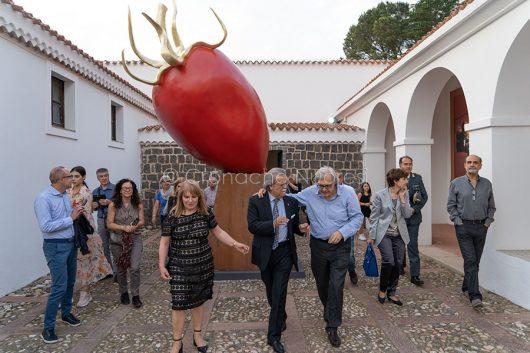 Nuoro. ISRE, inaugurazione della mostra di Giuseppe Carta (© foto S.Novellu) 0
