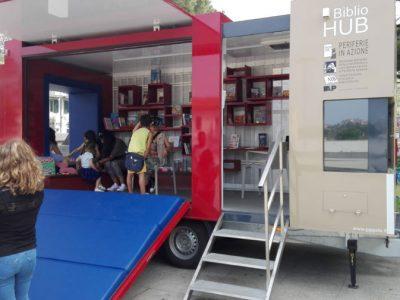 """Il progetto """"Bibliohub"""" in piazza Vittorio Emanuele"""