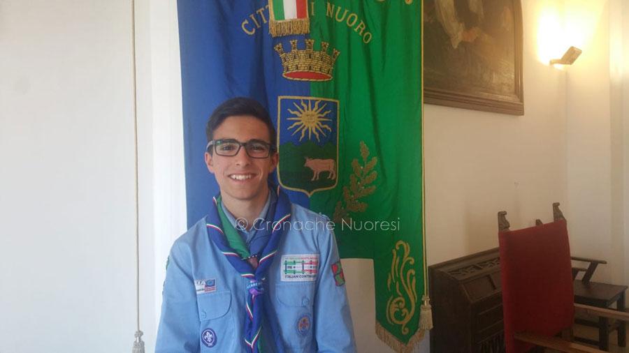 """Il boyscout Carlo Sarria rappresenterà  Nuoro al grande evento """"jamboree"""""""