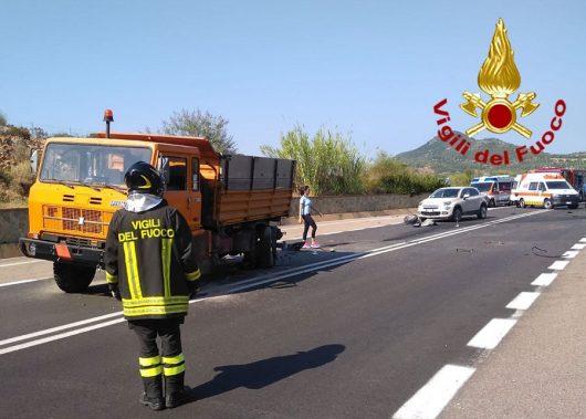 Gli altri due mezzi coinvolti nell'incidente