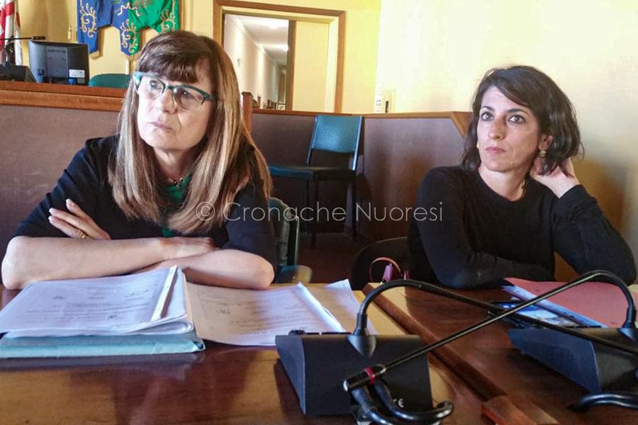 Gli assessori Boi e Romagna