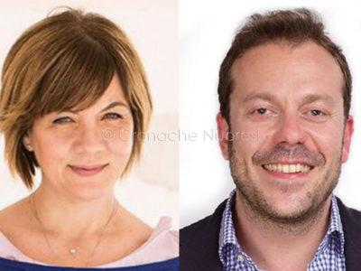 Gli onorevoli Romina Mura (PD) e Eugenio Zoffili (Lega)