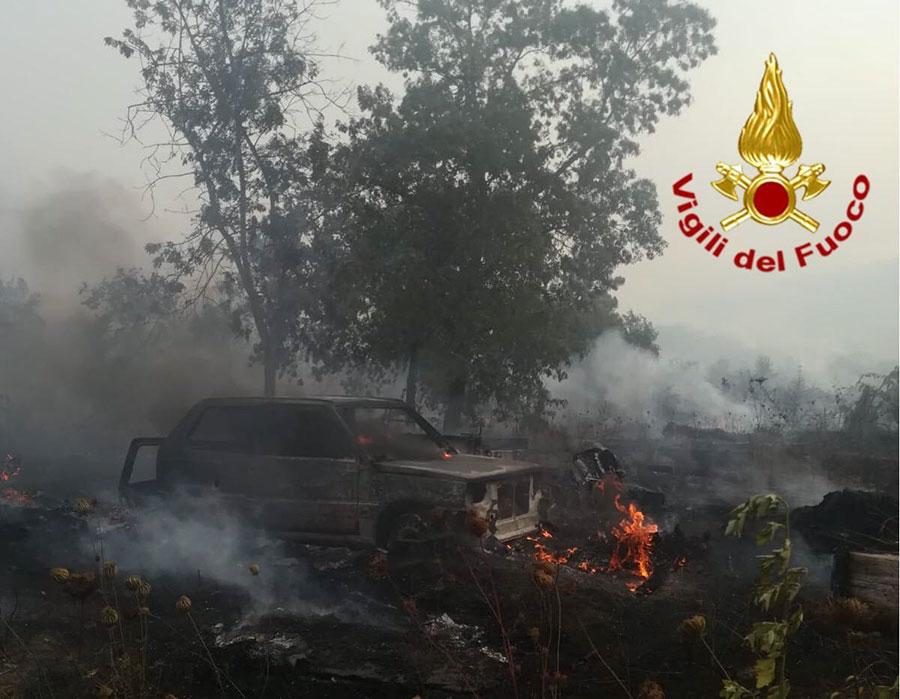 Incendi in Ogliastra: la Procura di Lanusei apre tre inchieste per dolo