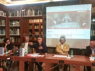 La conferenza stampa all'ISRE (foto S.Meloni)