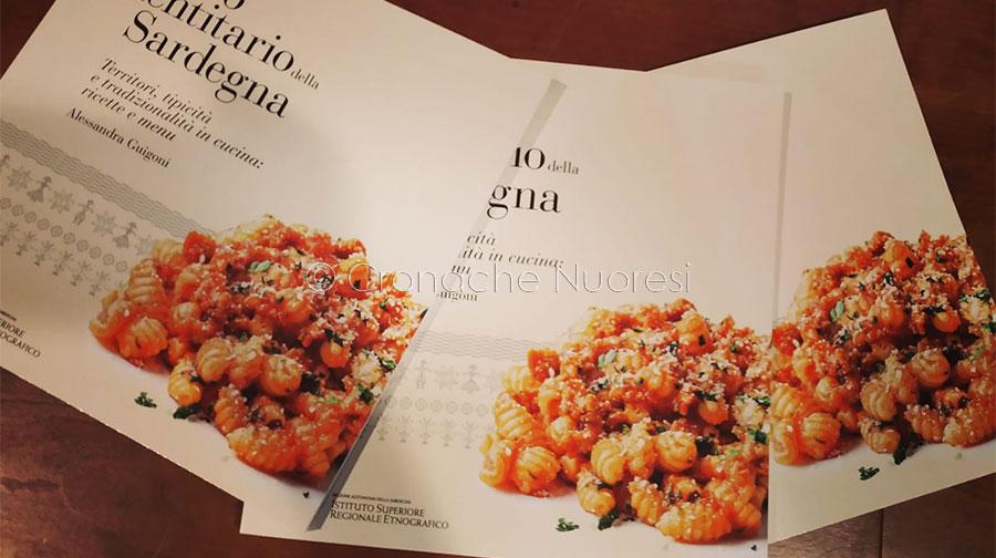 La copertina del volume del cibo identitario presentato oggi all'Isre (f. F. Becchere)