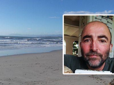 La spiaggia di Cala Ginepro e la vittima, Andreas Harder