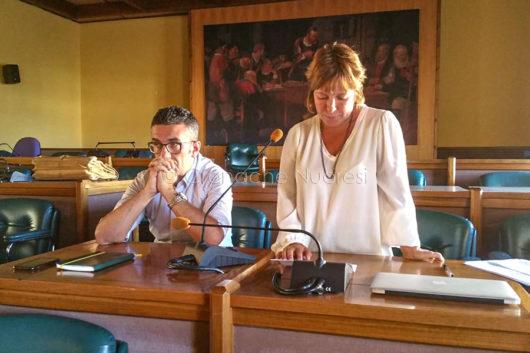 L'assessore Mara Sanna (foto Cronache Nuoresi)