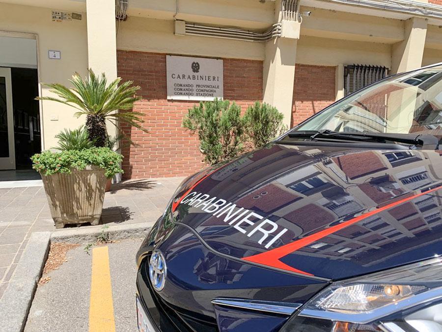 Nuoro, l'auto elettrica in dotazione ai Carabinieri
