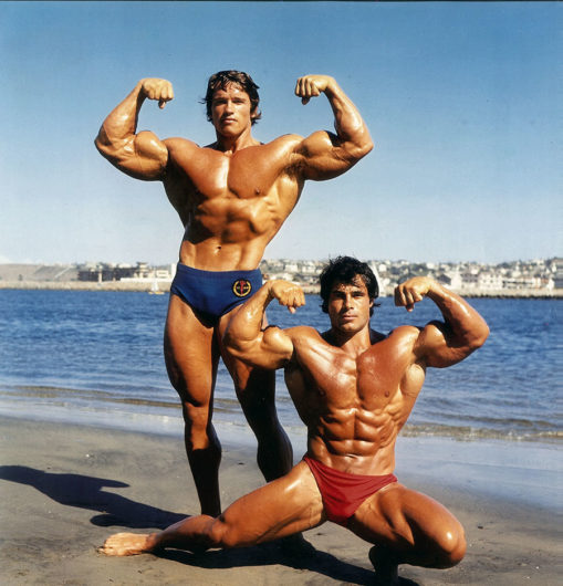 Arnold Schwarzenegger e Franco Columbu