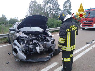 La Nissan Juke dopo l'incidente