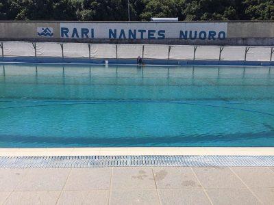 La piscina di Farcana sull'Ortobene