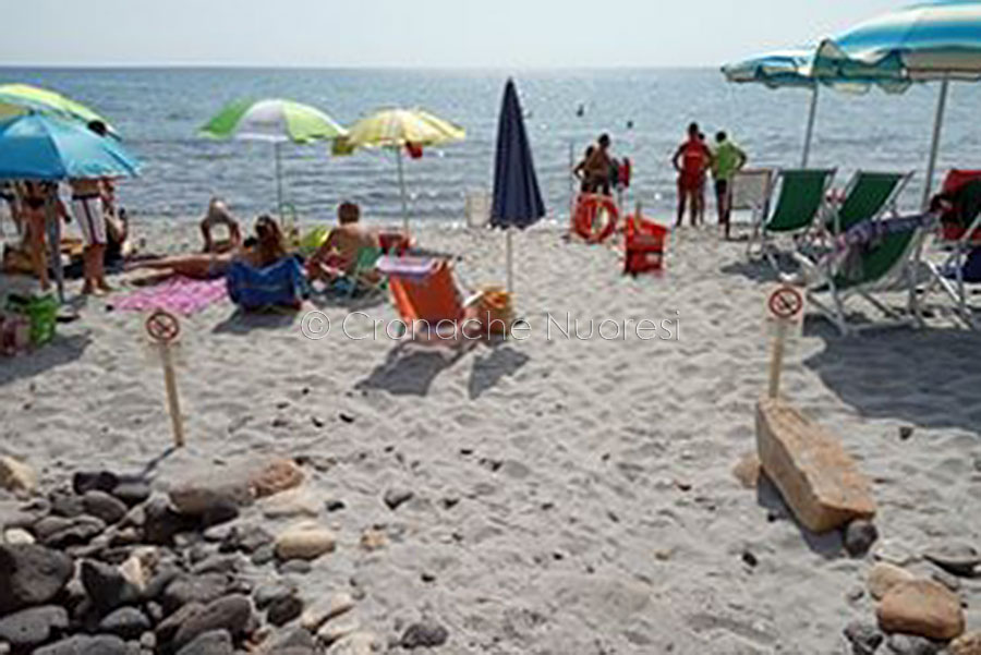 La spiaggia di Sas Linnas Siccas a Orosei